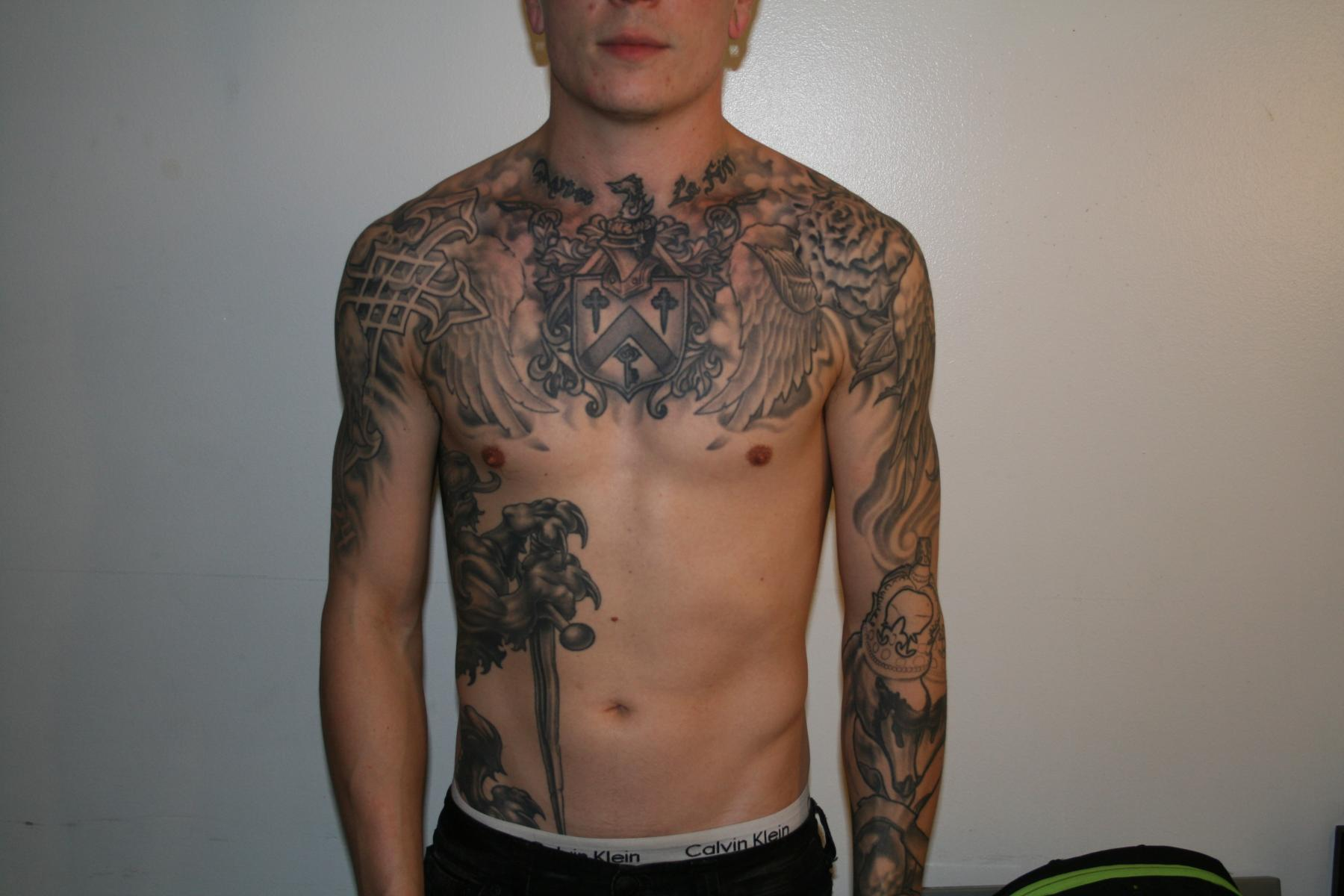 Exclusive interview james cassells of asking alexandria for Asking alexandria tattoo