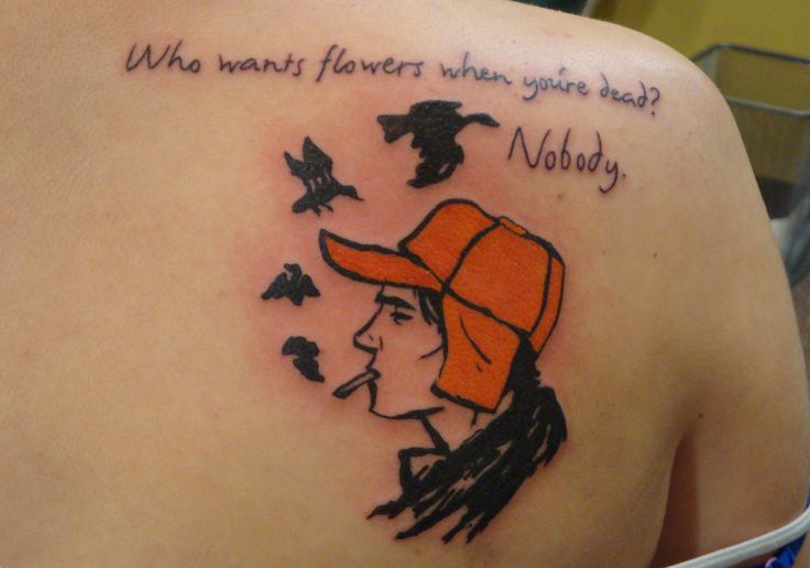 The Catcher In The Rye Inspirations Tattoo