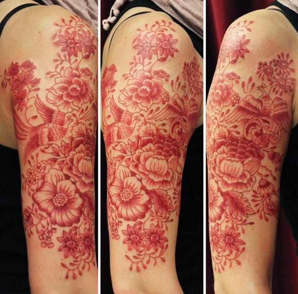 Cool Tattoo Ideas: Red Ink - Tattoo.com
