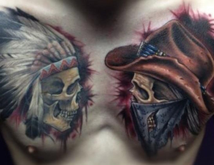 Top 10 Native American Tattoos: 10 Stunningly Beautiful Native American Tattoos