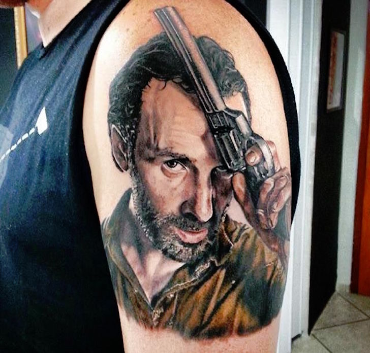 14 Amazing Walking Dead Tattoos Tattoo Com