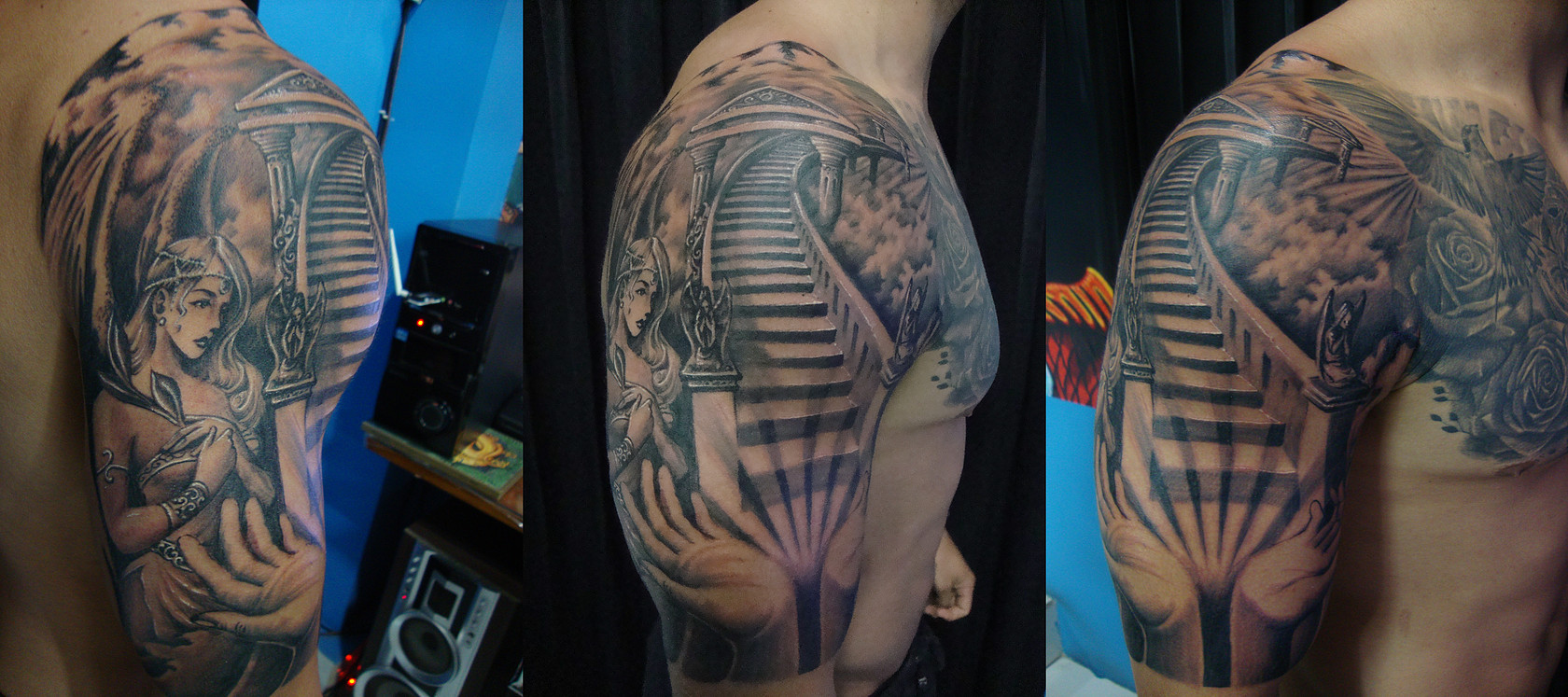 Dedicated To Led Zeppelin Stairway To Heaven Tattoos Tattoo Com