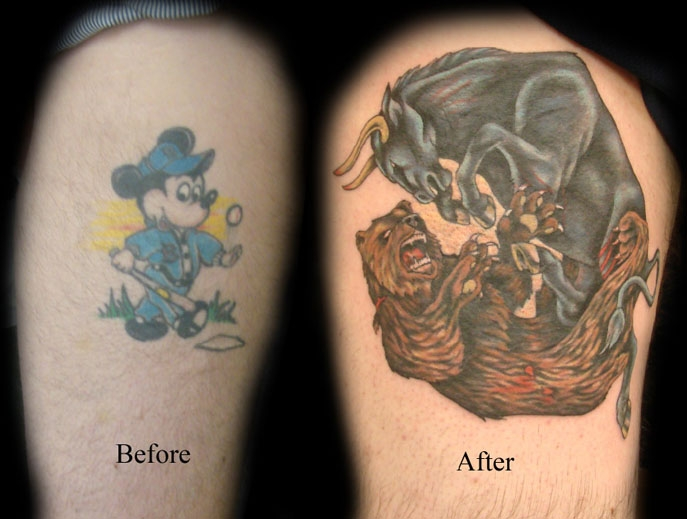 We all make mistakes cover up tattoos for Brown tattoo ink cover up