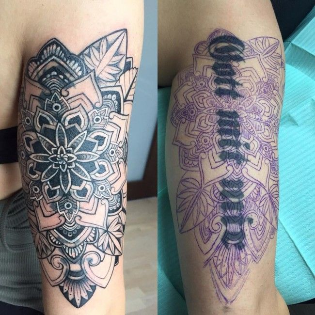 we all make mistakes: cover up tattoos - tattoo