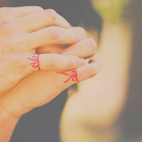 The Red String Of Fate Folklore In Tattoos Tattoo