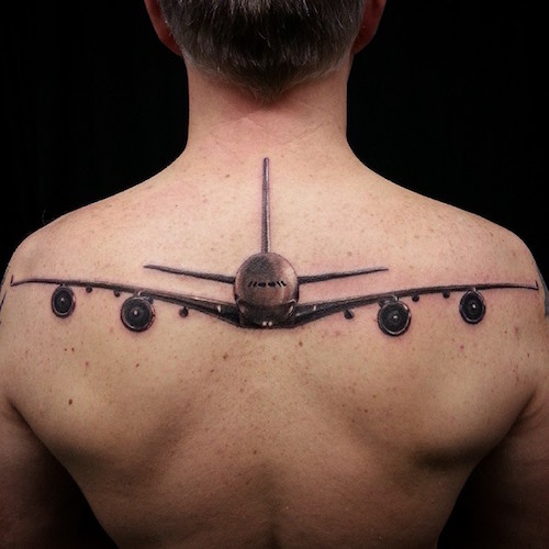 10 Amazing Airplane Tattoo Ideas Tattoo Com