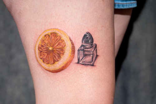 sweetest citrus tattoos