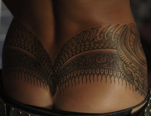 The Following Are Examples Of Cute And Creative Tramp Stamp Tattoos Awful
