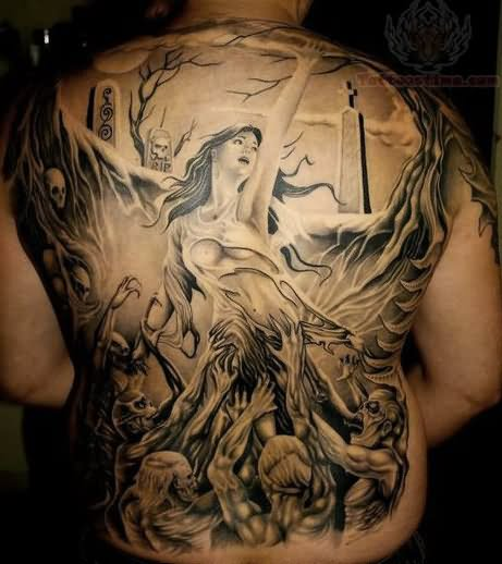 10 Zombie Tattoos That Will Give You Nightmares