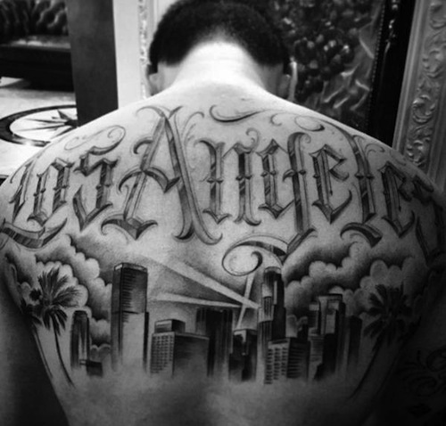 20 best los angeles tattoos for Los angeles tattoo