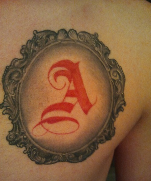 10 Awesome Letter Tattoo Ideas