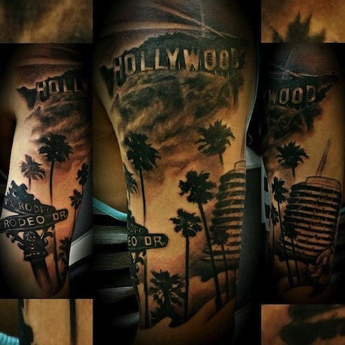 20 best los angeles tattoos. Black Bedroom Furniture Sets. Home Design Ideas